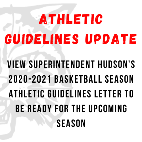 20-21 Athletic Guidelines Update