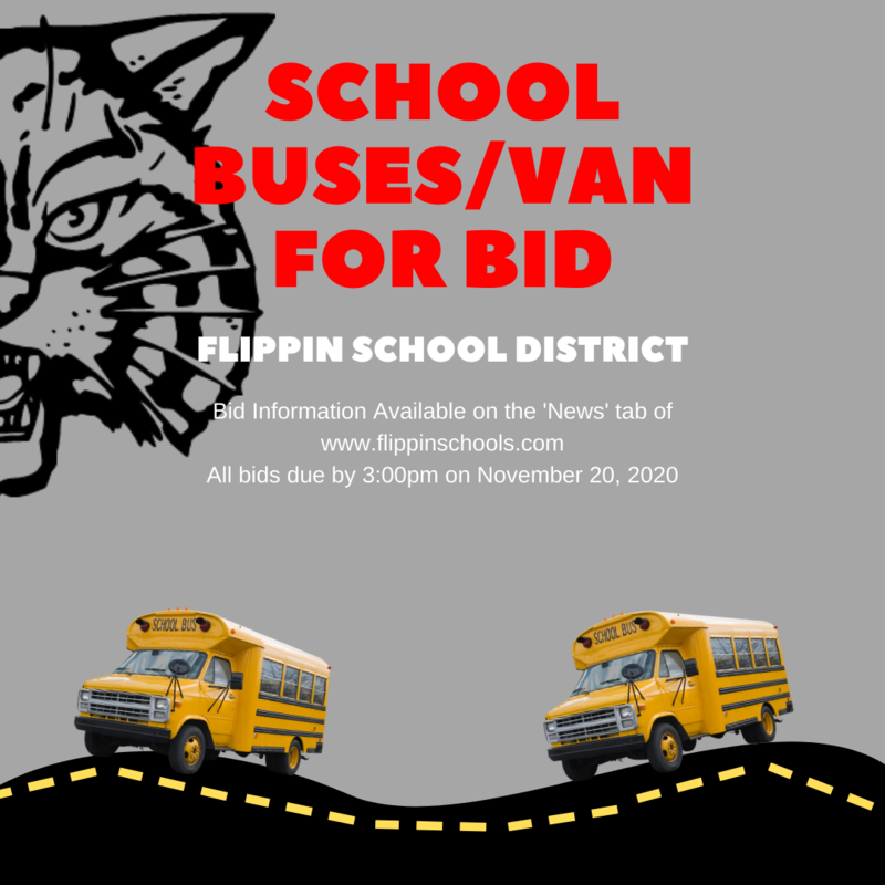 School Buses/Van for Bid